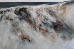 Ved havet II Maleri 60x76 cm 7200 ur