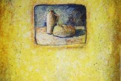 Maaltid II Litografi 18x19cm 1300,-kr m.r.