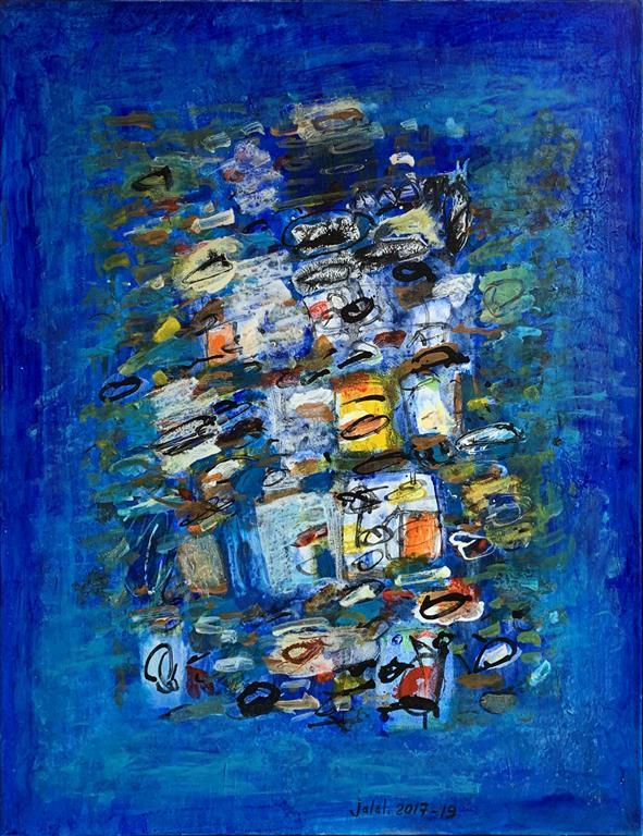 The thinker II Akrylmaleri (65x50 cm) kr 13000 ur
