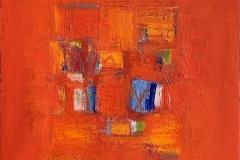 Composition Oljemaleri (50x50 cm) kr 12000 ur