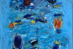 A seaside walk III Akrylmaleri (65x50 cm) kr 13000 ur