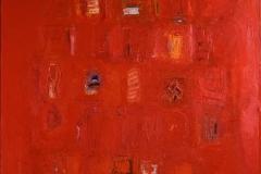Red passion Oljemaleri (130x97 cm) kr 33000 ur