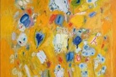 Blossoms Oljemaleri (100x100 cm) kr 29000 ur