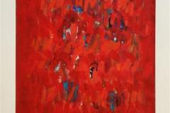 Komposisjon VI Akrylmaleri (64x49 cm) kr 10000 ur