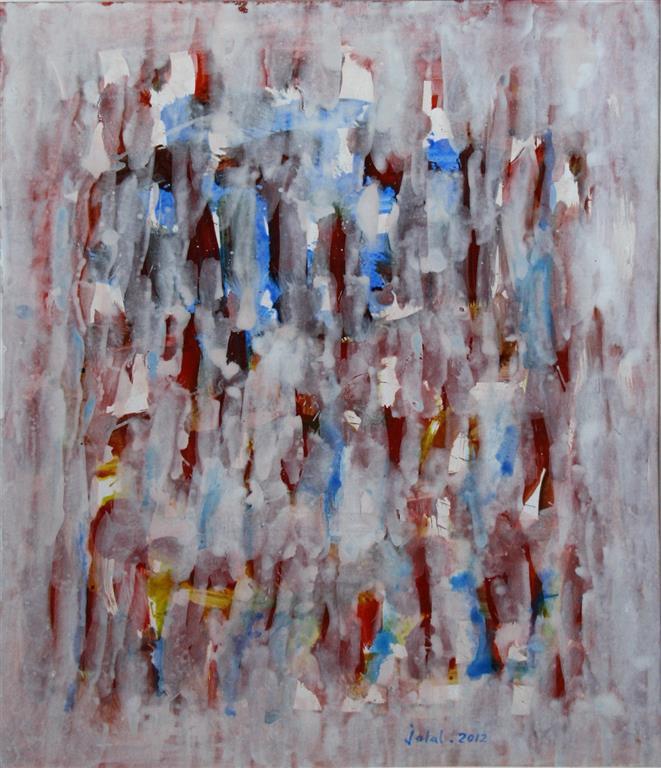 Etat spirituel IV Akrylmaleri 64x48 cm 12000 mr