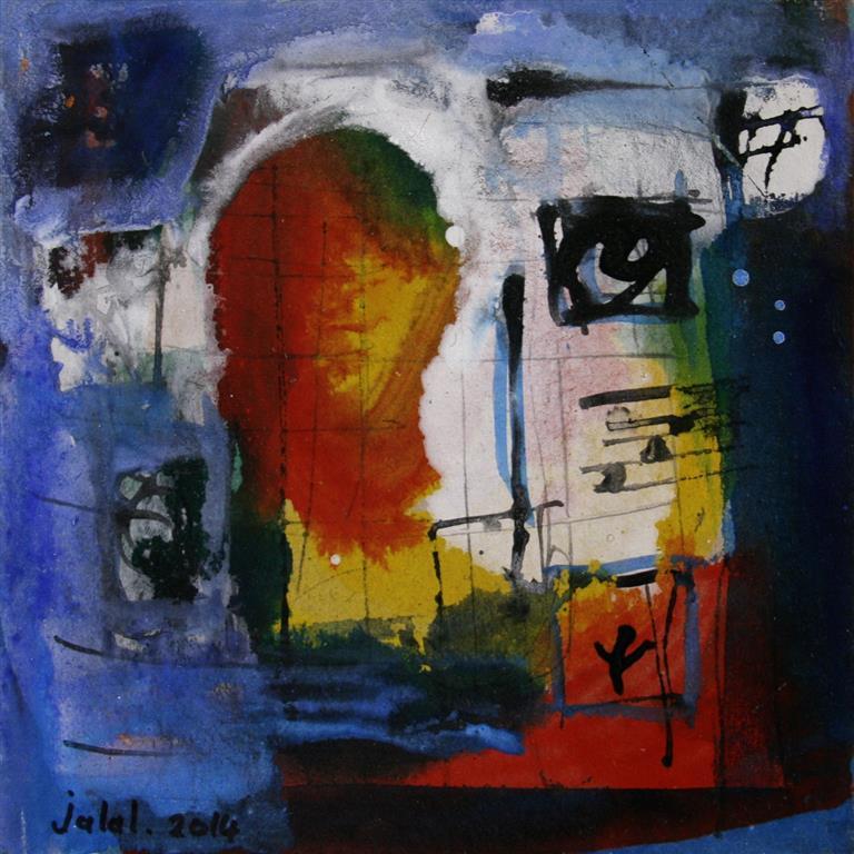 Petite peinture carre II Akrylmaleri 20x20 cm 1900 mr