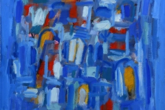 La maison bleu Oljemaleri 60x60 cm 12000 mr
