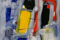 Petite peinture carre V Akrylmaleri 20x20 cm 1900 mr