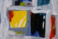 Petite peinture carre VI Akrylmaleri 20x20 cm 1900 mr
