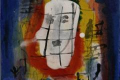 Petite peinture carre VIII Akrylmaleri 20x20 cm 1900 mr