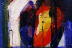 Petite peinture carre XII Akrylmaleri 20x20 cm 1900 mr