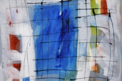Petite peinture carre XIII Akrylmaleri 20x20 cm 1900 mr