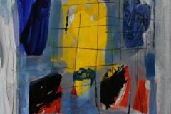 Petite peinture carre XIV Akrylmaleri 20x20 cm 1900 mr
