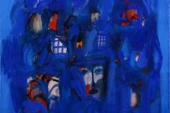Une chanson bedouine Oljemaleri 60x60 cm 12000 mr