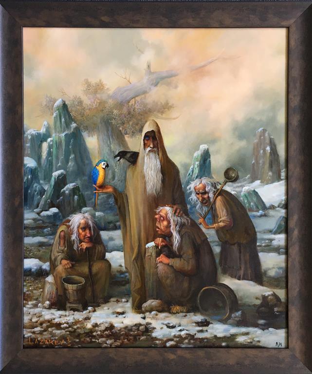 Norner Oljemaleri (60x50 cm) kr 14000 mr