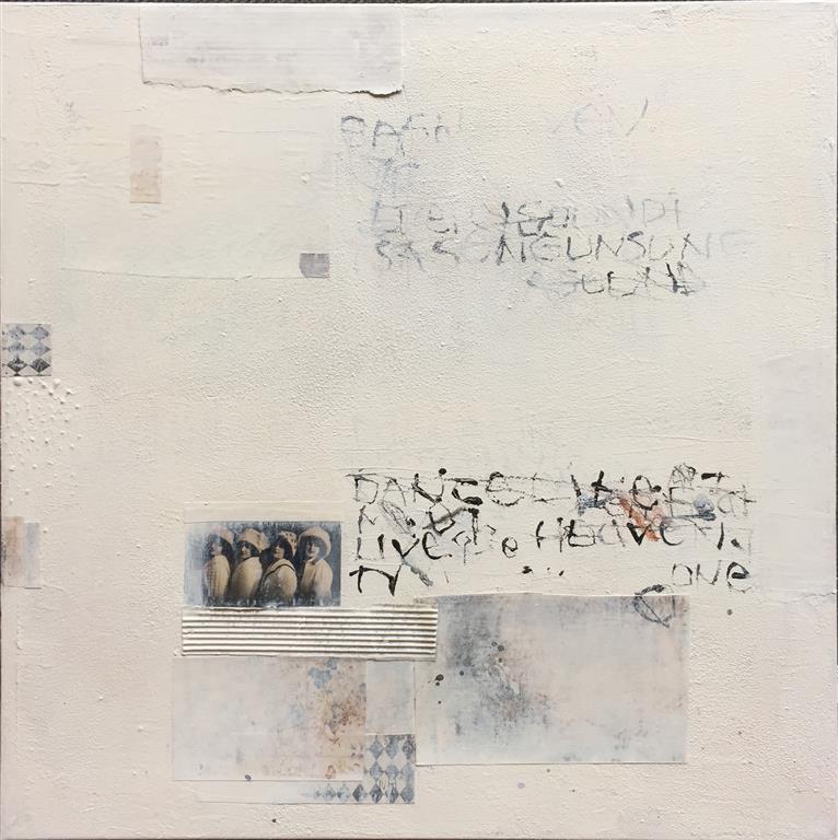 Numbers Letters 5 Akrylmaleri (50x50 cm) kr 5000 ur
