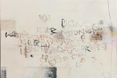 Numbers Letters 7 Akrylmaleri (50x50 cm) kr 5000 ur