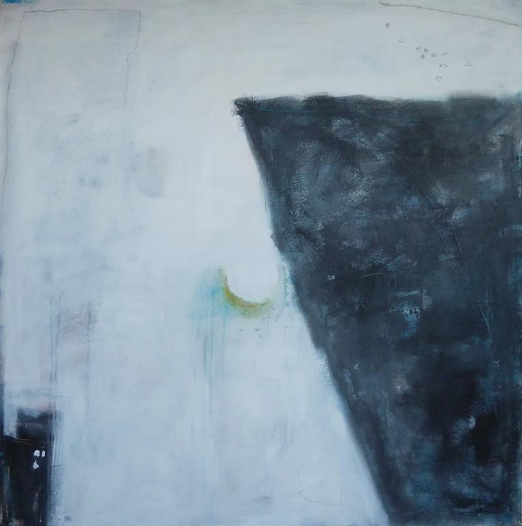 Prekestolen Akrylmaleri 100x100 cm 10000 ur
