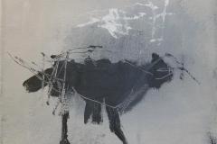 Animal Kingdom 1 Akrylmaleri 20x20 cm 1500 ur