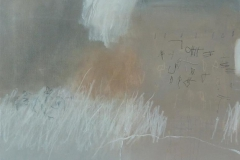 Scribbles 5 Akrylmaleri 50x50 cm 5000 ur