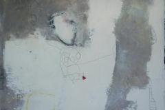 The Lake Akrylmaleri 100x100 cm 10000 ur