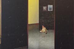Dukken II Trykk, tegning (60x60 cm) kr 10000 ur