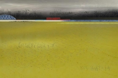 Gul åker III Digital trykk (30x30 cm) kr 3000 ur