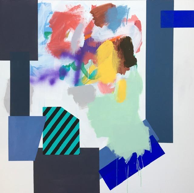 Nr. 2 Akrylmaleri (100x100 cm) kr 12000 ur