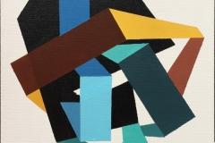 Figurer VI Akrylmaleri (30x30 cm) kr 2400 ur