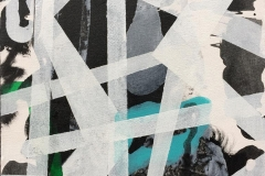 Komposisjon VI Akrylmaleri (30x30 cm) kr 2400 ur