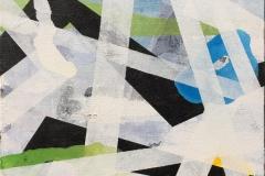 Komposisjon VII Akrylmaleri (30x30 cm) kr 2400 ur