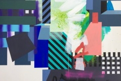 Nr. 1 Akrylmaleri (100x100 cm) kr 12000 ur