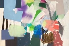 Nr. 3 Akrylmaleri (100x100 cm) kr 12000 ur