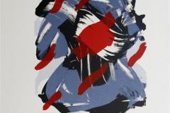 Hoestrose I Litografi 35x27 cm 2200 ur