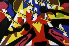 Sinfonia violenta Litografi 46x33,5 cm 2300 ur