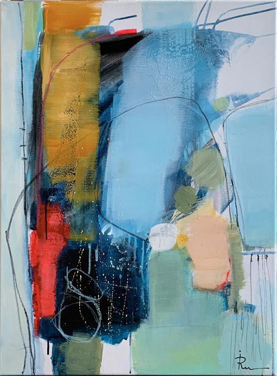 Concept-004 Akrylmaleri (80x60 cm) kr 8000 ur