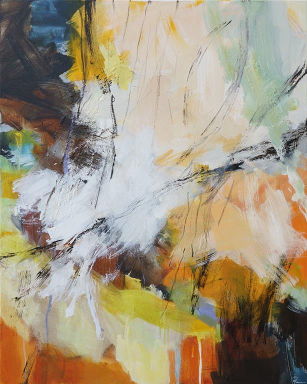In The Forest Akrylmaleri (100x80 cm) kr 12000 ur