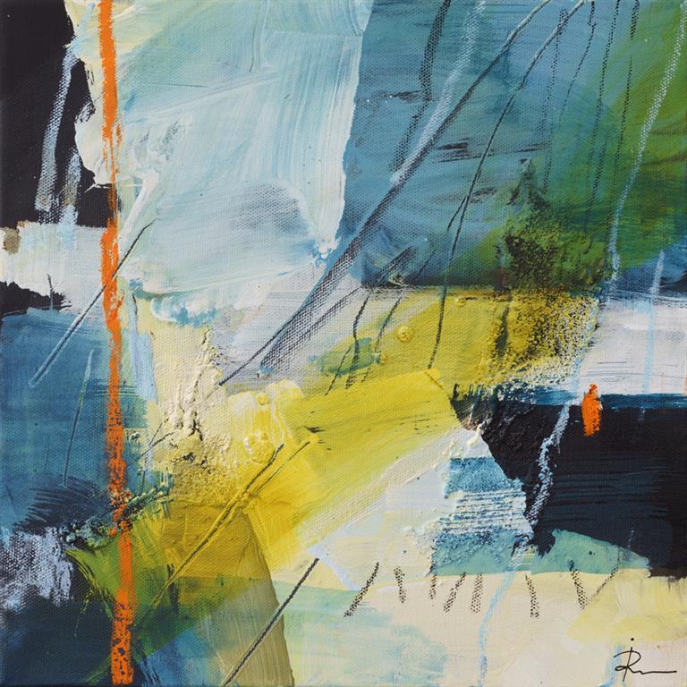 Untitled-325 Akrylmaleri (30x30 cm) kr 2000 ur