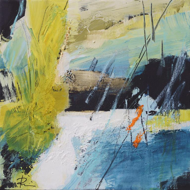 Untitled-326 Akrylmaleri (30x30 cm) kr 2000 ur