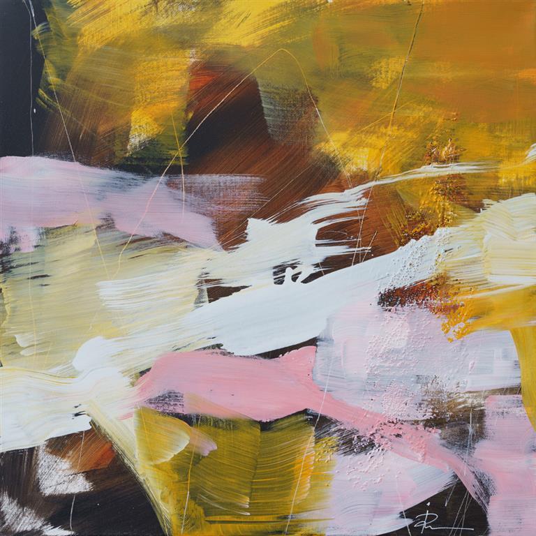 Untitled-82 Akrylmaleri (50x50 cm) kr 4500 ur