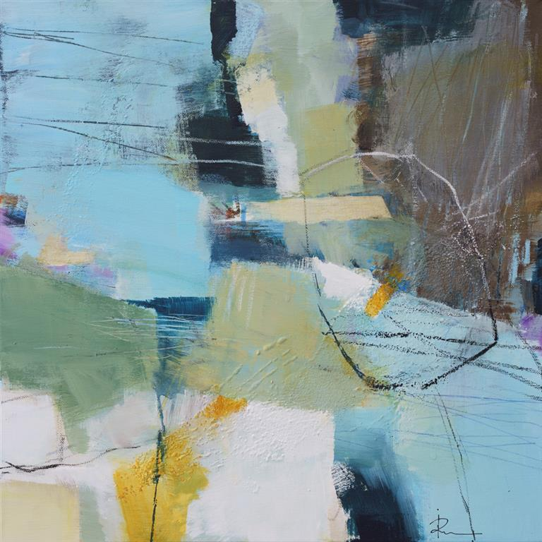 Untitled-83 Akrylmaleri (50x50 cm) kr 4500 ur