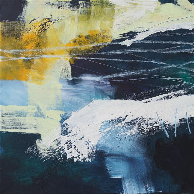 Untitled-84 Akrylmaleri (50x50 cm) kr 4500 ur