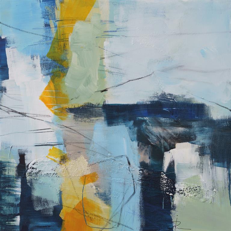 Untitled-85 Akrylmaleri (50x50 cm) kr 4500 ur