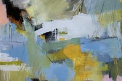 Concept-20 Akrylmaleri (120x100 cm) kr 17000 ur