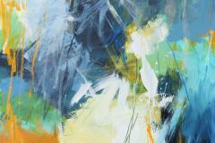 Crossing over-14 Akrylmaleri (100x80 cm) kr 12000 ur