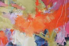 Interpretation-10 Akrylmaleri (70x70 cm) kr 8000 ur
