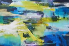 Interpretation-100 Akrylmaleri (100x120 cm) kr 17000 ur