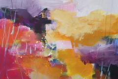 Interpretation-11 Akrylmaleri (70x70 cm) kr 8000 ur