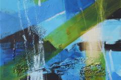 Untitled-324 Akrylmaleri (30x30 cm) kr 2000 ur