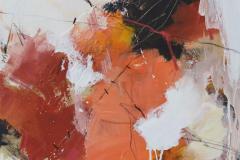 Untitled-80 Akrylmaleri (50x50 cm) kr 4500 ur